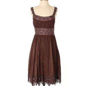 100% silk Adrianna Papell dress